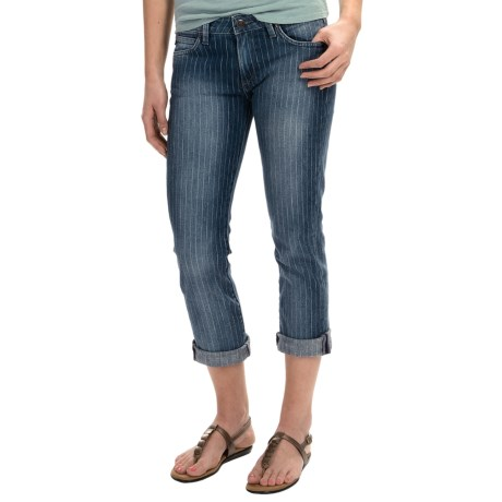 Agave Paloma Stretch Classic Crop Jeans - Mid Rise (For Women)