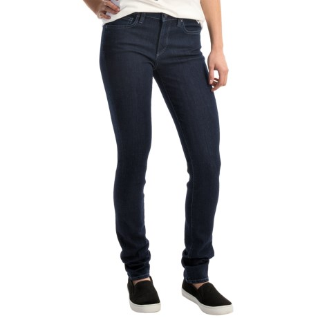 Agave Delgada Classic Stretch Skinny Jeans - Mid Rise (For Women)