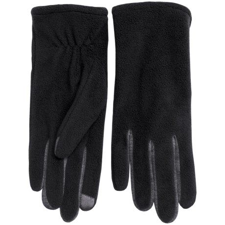 Fownes Brothers Touchpoint Polar Fleece Gloves - Touchscreen Compatible (For Women)
