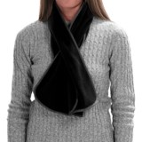 Fownes Brothers Polar Fleece Self-Bound Scarf (For Women)
