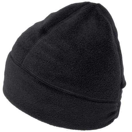 Fownes Brothers Polar Fleece Beanie with Ponytail Hole (For Women)
