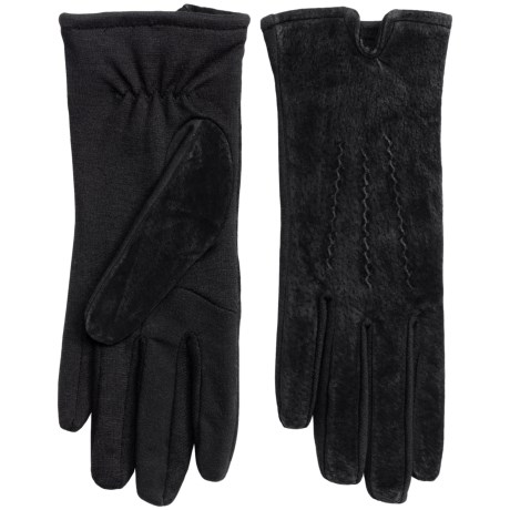 Touchpoint Smart Gloves Leather Gloves - Touchscreen Compatible (For Women)