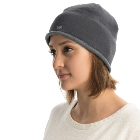 UR Powered Fleece-Lined Beanie with Removable Audio Speakers (For Women)