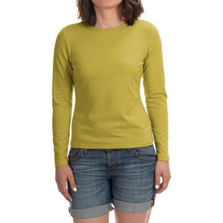 Stretch Modal-Cotton Shirt - Long Sleeve (For Women)