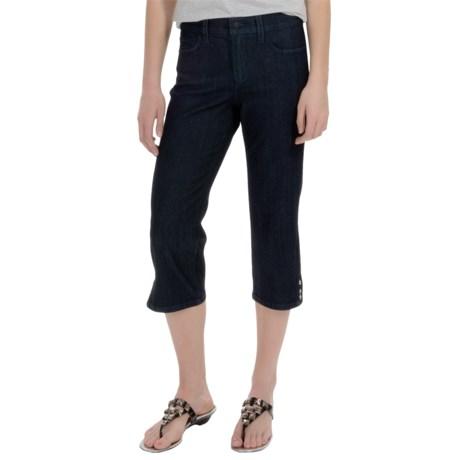 NYDJ Ariel Rivet-Trim Crop Jeans (For Women)