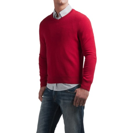 Daniel Bishop V-Neck Sweater - Merino Wool (For Men)