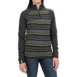 Meister Jordana Sweater - Zip Neck (For Women)