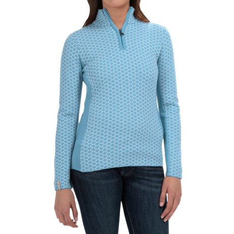 Meister Liana Sweater - Wool Blend, Zip Neck (For Women)