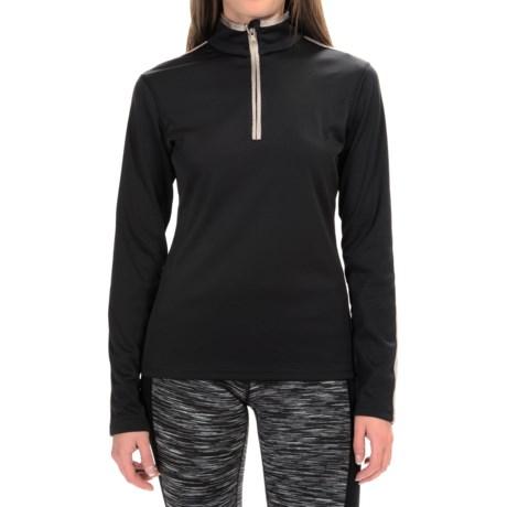 Fera Wynne Shirt - Zip Neck, Long Sleeve (For Women)
