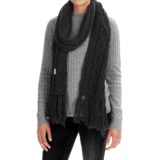 Rella Betto Hand-Knit Scarf - Merino Wool (For Women)