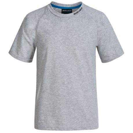 Bauer Cool Tech T-Shirt - Short Sleeve (For Big Kids)