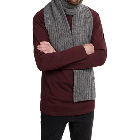 Rella Q Tweed Scarf - Lambswool (For Men and Women)