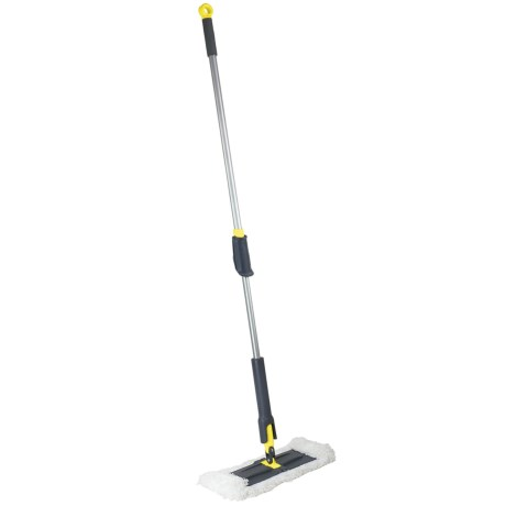 Height-Adjustable Microfiber Floor Duster - 64""