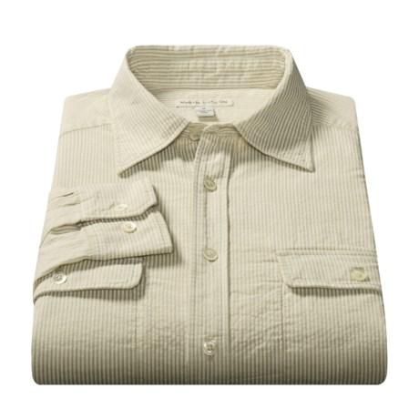 Martin Gordon Cotton Sport Shirt - Long Sleeve (For Men)