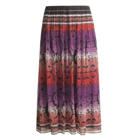 Maggy London Ombre Skirt - Silk Chiffon (For Women)