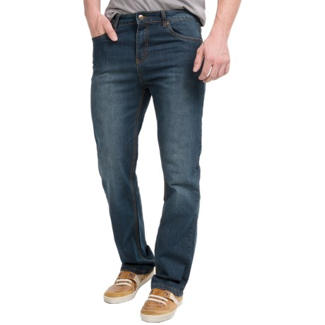 Mott and Grand Mott & Grand Flat-Front Jeans (For Men)