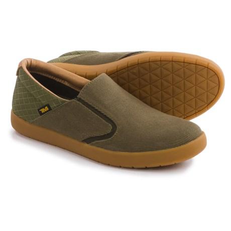 Teva Sterling Shoes - Canvas, Slip-Ons (For Men)