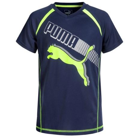 Puma Logo T-shirt - Short Sleeve (For Big Boys)