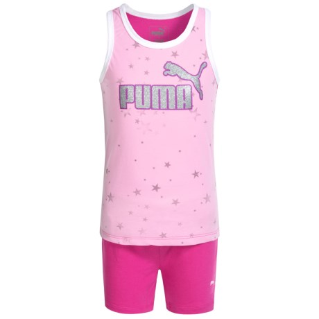 Puma Star Tank Top and Shorts Set (For Little Girls)