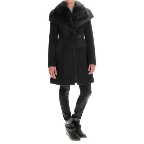 SOIA & KYO Fei Coat - Trim Fit, Wool Blend (For Women)