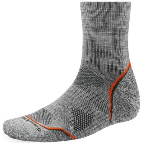 SmartWool PhD V2 Outdoor Light Socks - Merino Wool, 3/4 Crew (For Men)