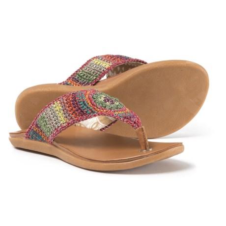 Sakroots The Sak Shana Crochet Flip-Flops (For Women)