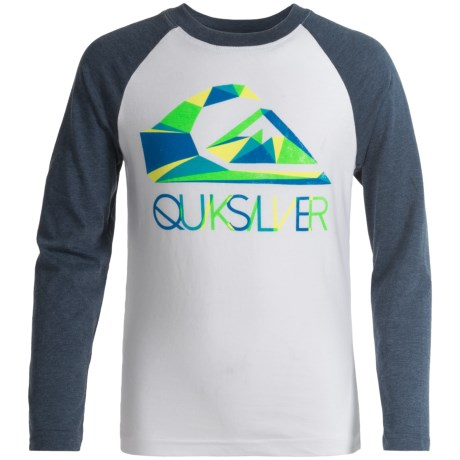 Quiksilver Graphic T-Shirt - Long Sleeve (For Big Boys)