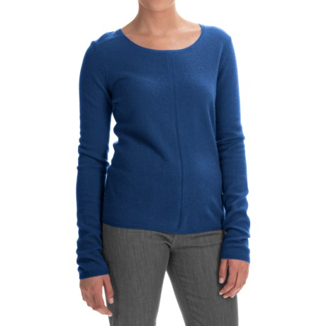 In Cashmere Basic Cashmere Sweater (For Women)