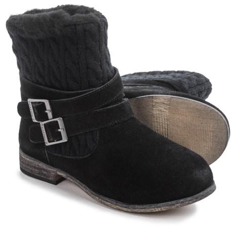 Bearpaw Shania Sheepskin Boots - Suede (For Women)