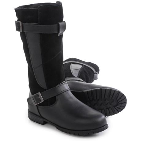 Bearpaw Edith Sheepskin Boots - Suede, Faux Leather (For Women)