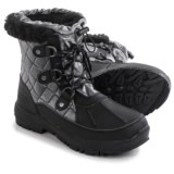 Bearpaw Bethany Apres Leather Snow Boots - Waterproof, Insulated (For Women)