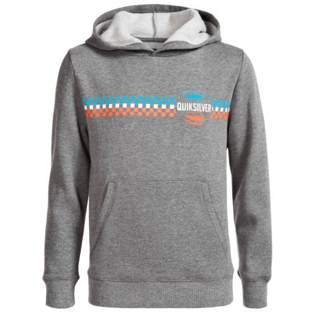 Quiksilver Vertical Line Hoodie (For Big Boys)