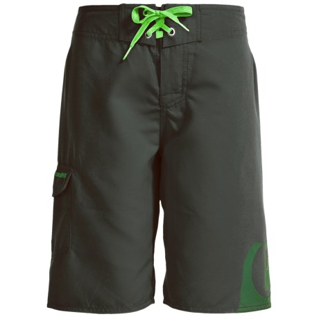 Quiksilver Side Logo Boardshorts (For Little and Big Boys)