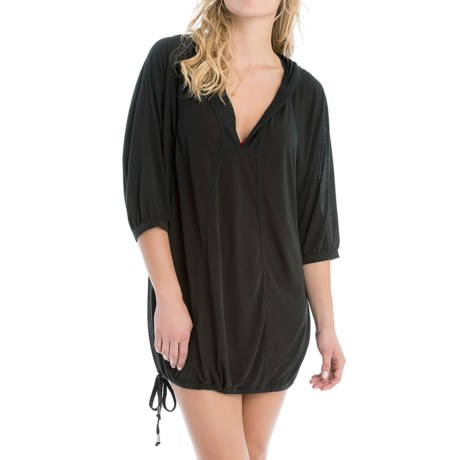 Lole Tilda Hooded Swimsuit Cover-Up - Elbow Sleeve (For Women)