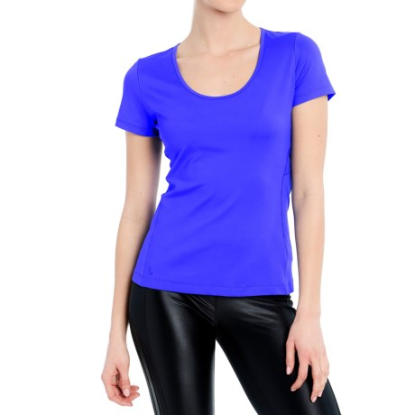 Lole Cardio T-Shirt - Scoop Neck, Short Sleeve (For Women)