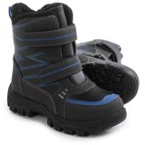 Weatherproof Double-Strap Snow Boots - Waterproof (For Little and Big Boys)