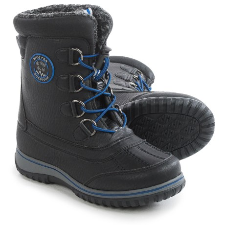 Weatherproof Toggle Snow Boot - Waterproof (For Little and Big Boys)
