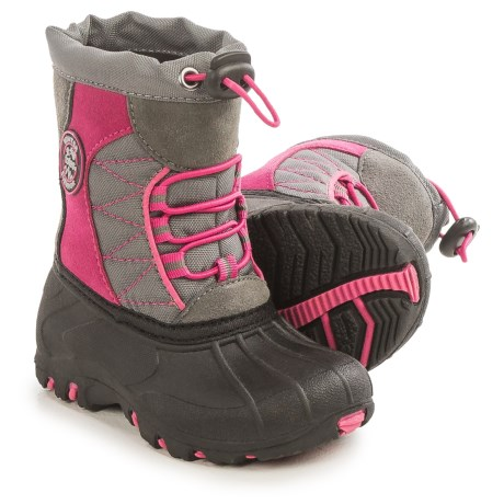 totes Fuschia Pac Boots - Waterproof (For Toddlers)