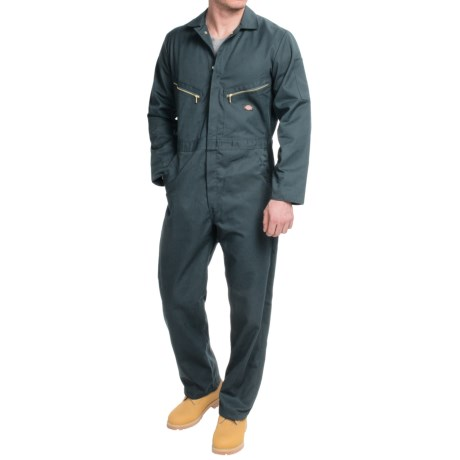 Dickies Twill Deluxe Coveralls - Long Sleeve (For Men)