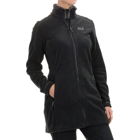 Jack Wolfskin Klondike Long Fleece Jacket (For Women)