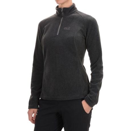 Jack Wolfskin Oakridge Fleece Jacket - Zip Neck (For Women)