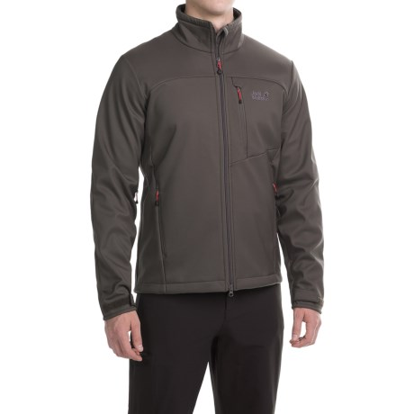 Jack Wolfskin Foggy Mountain Soft Shell Jacket (For Men)