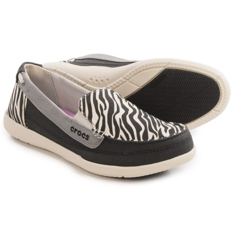 Crocs Walu Wild Graphic Shoes - Slip-Ons (For Women)