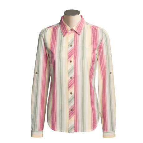 ExOfficio Chambray Stripe Shirt - Long Sleeve (For Women)
