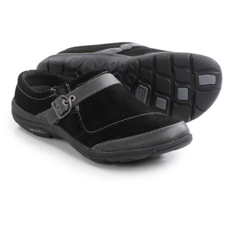Merrell Dassie Slide Shoes - Suede, Slip-Ons (For Women)