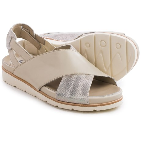 Earthies Santorini Sling-Back Sandals - Leather (For Women)