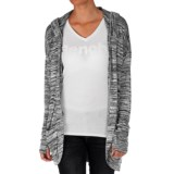 Bench Aqueduct Cardigan Sweater - Hooded (For Women)