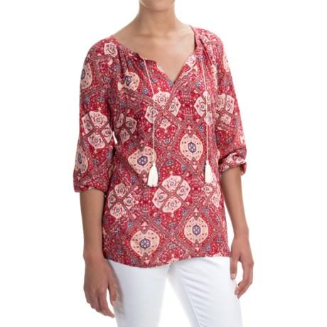 NYDJ Budapest Tunic Shirt - 3/4 Sleeve (For Women)