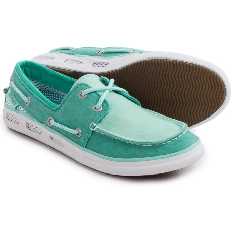 Columbia Sportswear Vulc N Vent Boat Canvas PFG Water Shoes (For Women)