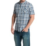 Timberland Allendale River Plaid Poplin Shirt - Short Sleeve (For Men)